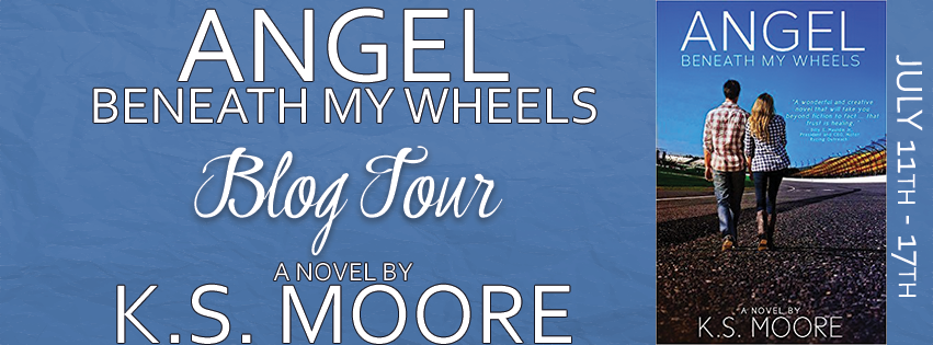 Angel Beneath My Wheels Blog Tour Banner