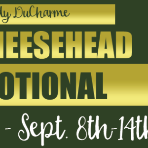 The Cheesehead Devotional Blog Tour