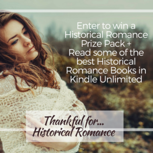 Thankful for Historical Romance