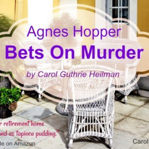 Who is Agnes? Guest Post from Carol Guthrie Heilman